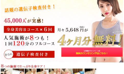 【無料カウンセリング】痩身エステNo1「キレイサローネ」