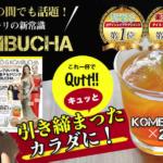 【初回限定83%OFF>980円】セレブの間で話題「KOMBUCHA」