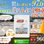 【初回限定1,922円→960円】においが気にならない「にんにく卵黄」