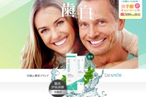 【初回限定50%オフ】薬用ホワイトニング歯磨きジェル「ビースマイルTW」